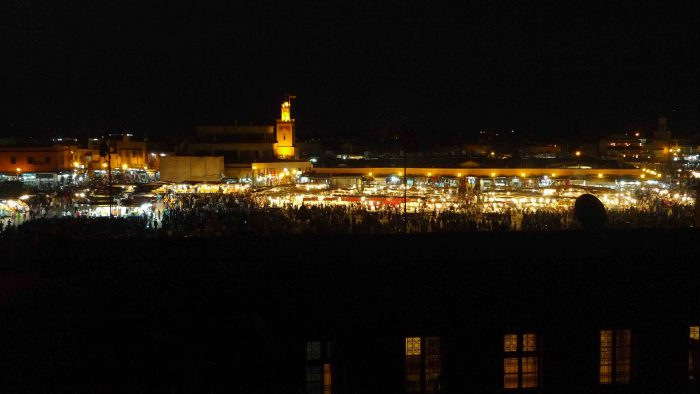 ROAD TRIP CIRCUIT ET 4X4 AU MAROC AVEC SESAM, Marrakech by night