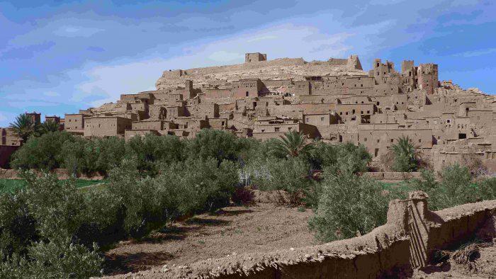 EXCURSION AU MAROC AVEC SESAM KSAR AIT BEN HADDOU UNESCO
