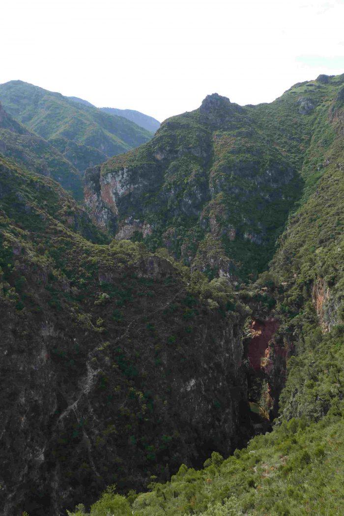 Voyage dans le Rif, Pont de Dieu avec SESAM